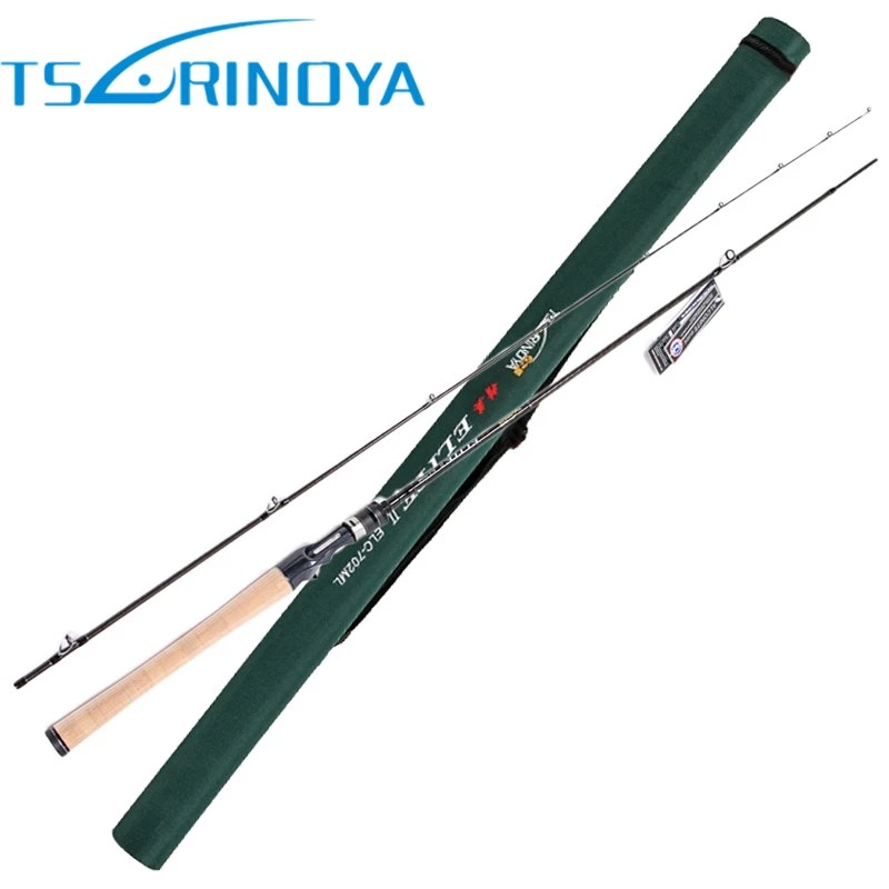 TSURINOYA LEGEND 2 Section Casting Fishing Rod 2.13m 125g Rod Weight Vara Pesca Lure Fishing Tackle Canne A Peche Fishing Pole стоимость