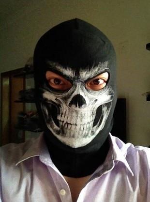 (Fast Shipping) NEWest Balaclava Hood Full Face Masks For Ghosts Skull Bike Skiing Hood Ski Mask
