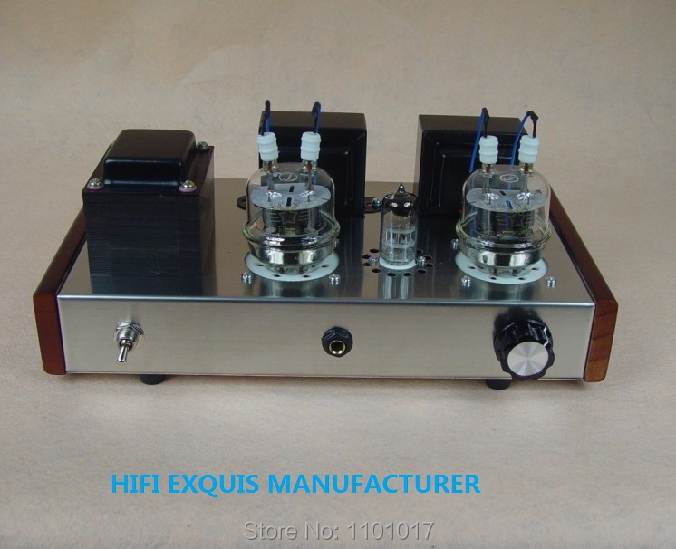 JBH 6n2 FU32 tube amplifier HIFI EXQUIS headphone output Handmade scaffolding lamp amp ST version JBHFU32ST