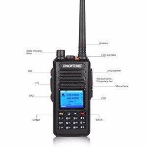 Image 5 - Портативная рация baofeng dmr DM 1702 GPS с голосовой записью vhf uhf двухсторонняя радиосвязь 136 174 и 400 470 МГц