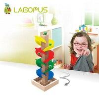 Lagopus קשת עץ Creative ציור צעצועי עץ חינוך מוקדם ילד דגם בניין ערכות עבור ילד