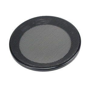 Image 5 - GHXAMP Black Car Ceiling Speaker Grill Mesh Enclosure Net  4 inch 5 inch 6.5 inch Protective Cover Subwoofer DIY speaker ABS