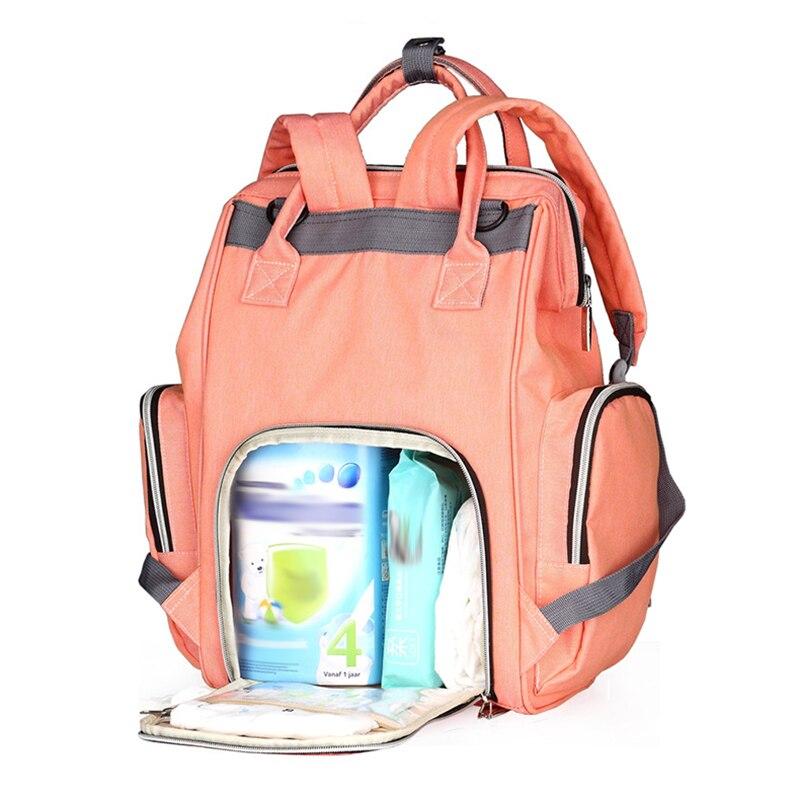 6357530419 Fashion Upgrate τσάντα πανών Mummy μητρότητας τσάντα πάνας πολλαπλών ...