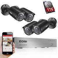 New 8CH DVR Home Security System 4PCS 960H 800 Tvl 42IR Outdoor CCTV Waterproof Camera Kit