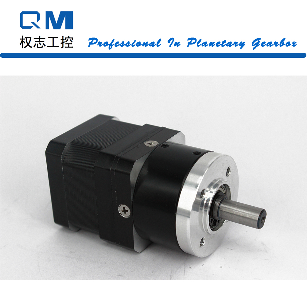 Geared stepper motor planetary gearbox ratio 4:1 nema 17 stepper motor L=34mm cnc robot pump 57mm planetary gearbox geared stepper motor ratio 10 1 nema23 l 56mm 3a
