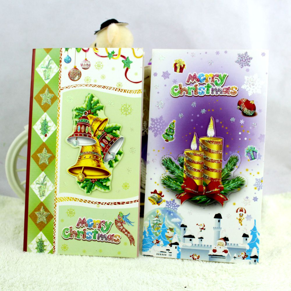 Creative Cute And Lovely Christmas Cards C02 02 Postcard Best Wish