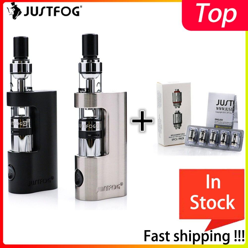 Bigsale Original Justfog Q14 Compact Kit 900mah Justfog Q14 Coil Anti-leakage Starshield Clearomizer Atomizer E Cigarette Kit