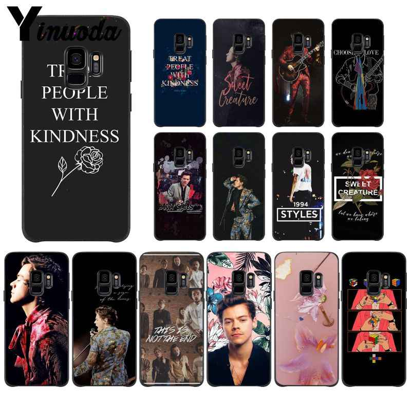 MaiYaCa One Direction Tattoos Harry Styles  Soft Silicone Black PhoneCase for Samsung Galaxy S9 S10 Plus S10E S6 S7 S8 S9 S9Plus
