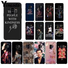 MaiYaCa One Direction Tattoos Harry Styles PhoneCase for Samsung Galaxy S9 S20 S10 Plus S10E S6 S7 S8 S9 S9Plus