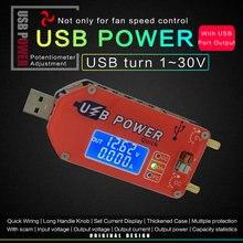 DP3A – module d'alimentation réglable USB à affichage numérique, charge rapide, régulateur d'alimentation de laboratoire, DC 1-30V, 15W, QC 2.0 3.0 FCP