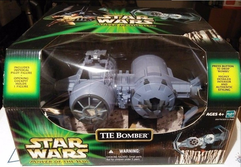 3.75 action figure star wars Tie bomber for power of jedi limited edition free shipping3.75 action figure star wars Tie bomber for power of jedi limited edition free shipping