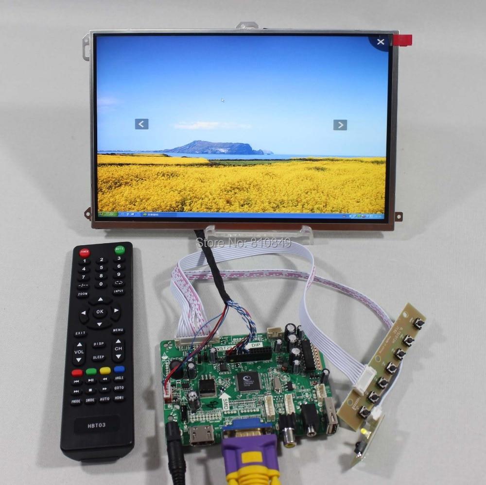 HDMI VGA AV Audio USB LCD Controller Board+10.1 LP101WX1-SLP2 1280x800 IPS LCD Screen vga lcd controller board 10 1b101ew05 1280x800 lcd screen