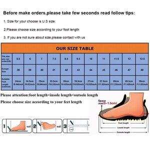 Image 5 - YWEEN 남성 샌들 가죽 여름 중공 통기성 미끄럼 방지 캐주얼 아웃 도어 비치 신발 대형 EUR45 48