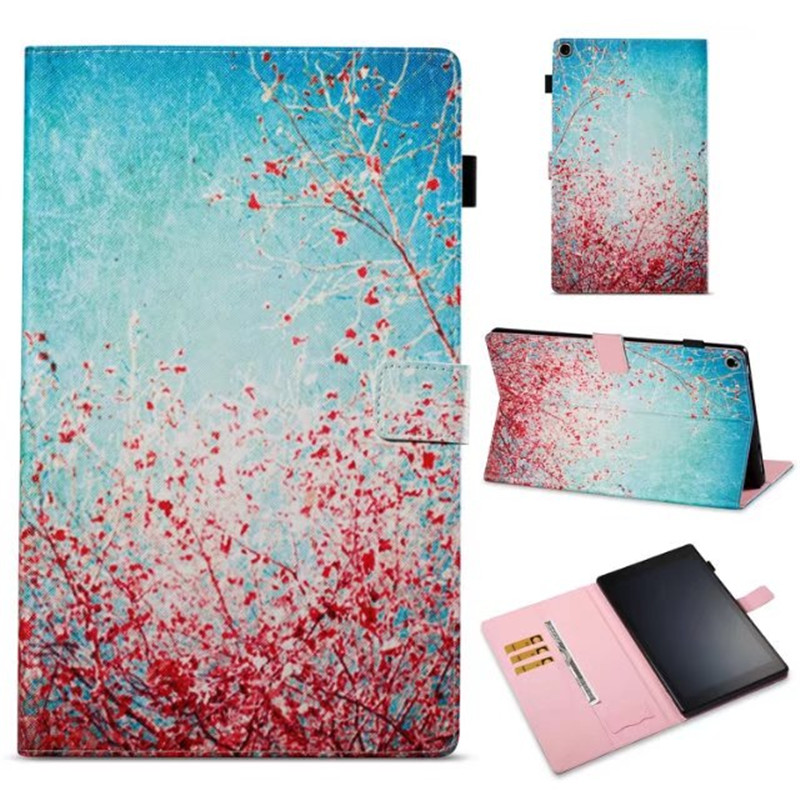 For Amazon kindle Fire HD10 2017 Ultra Thin PU Leather protective Skin Cover for Amazon Fire HD 10 2017 Tablet case