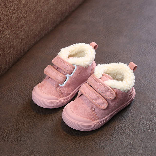 be66f9d011d 2018 Winter Baby Girl Boy Snow Boots Warm Thicken Plush Infant Toddler  Boots High Quality Casual Kid Child Outdoor Boots Shoes