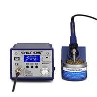 939D Anti Static Adjustable Thermostat 110V 220V EU US PLUG Electric Iron Soldering Welding Station Soldering