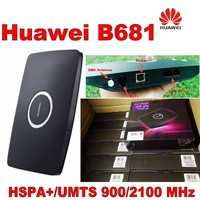 Lot of 500pcs Unlocked Huawei B681 3G UMTS HSPA+ WCDMA 28.8Mbps Wireless Router WPSwith SIM Card Slot