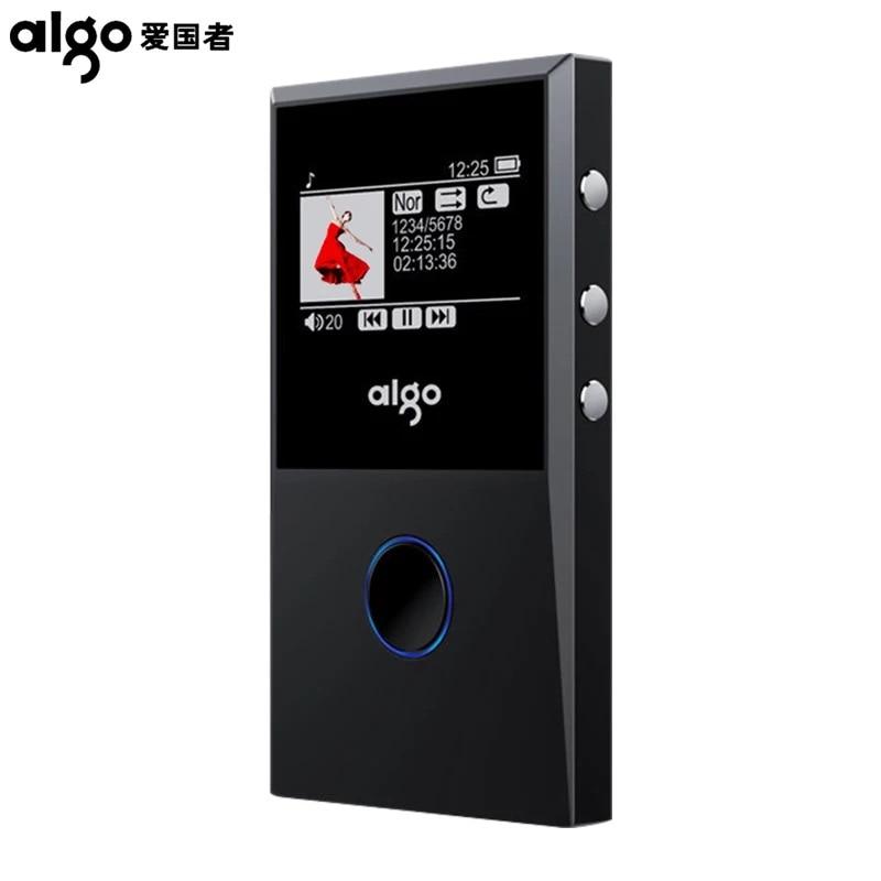 Aigo 205 MP3 HiFI Loseless Bluetooth Player Portable FM Radio Recording E-Book OTG MP3 Player Max 64GB Support недорго, оригинальная цена
