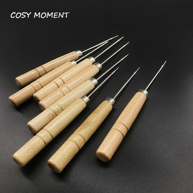 COSY MOMENT 1PC Shisha Wooden Handle Foil Piercing Tool Chicha Narguile Foil Puncher Aluminum Foil Hookah Accessories SM149