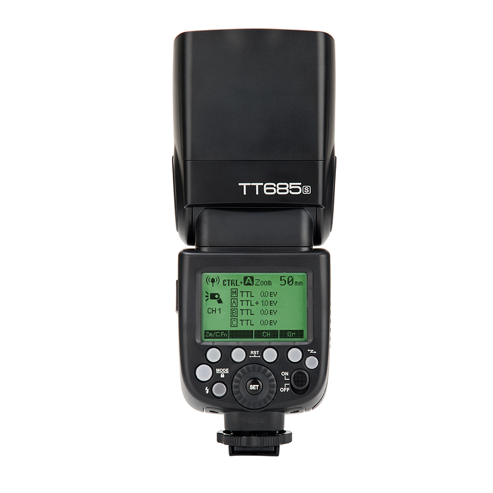 Godox TT685S 2 4G HSS TTL Camera Flash Light Speedlite TF 365 Trigger for Sony A77II A7RII A7R A99 A58 A6500 A6000 A6300 in Flashes from Consumer Electronics