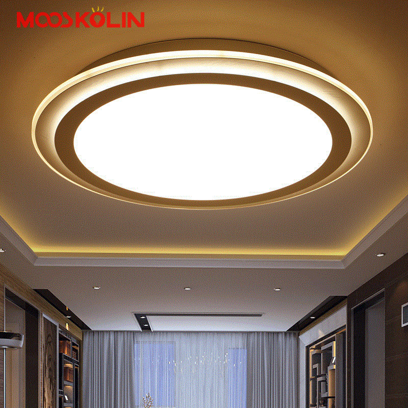 Modern LED Acrylic Ceiling lights for Living room Bedroom Lamparas de techo Colgante Moderna with Remote controller Ceiling lamp rectangle acrylic led ceiling lights for living room bedroom modern led lamparas de techo new white ceiling lamp fixtures