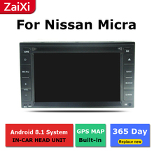 ZaiXi android car dvd gps multimedia player For Nissan Micra 2010~2015 car dvd navigation radio video audio player все цены