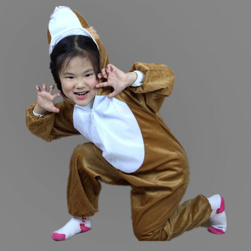 Umorden Barn Barn Toddler Pajama Tecknad Djur Lion Kostym Prestanda - Maskeradkläder och utklädnad - Foto 5