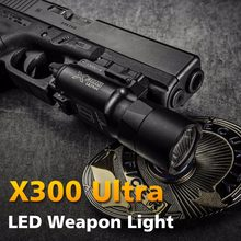 500 Lumens High Output Tactical X300 Ultra Pistol Gun Light X300U Weapon Light Lanterna Flashlight Glock 1911 Pistol Light(China)