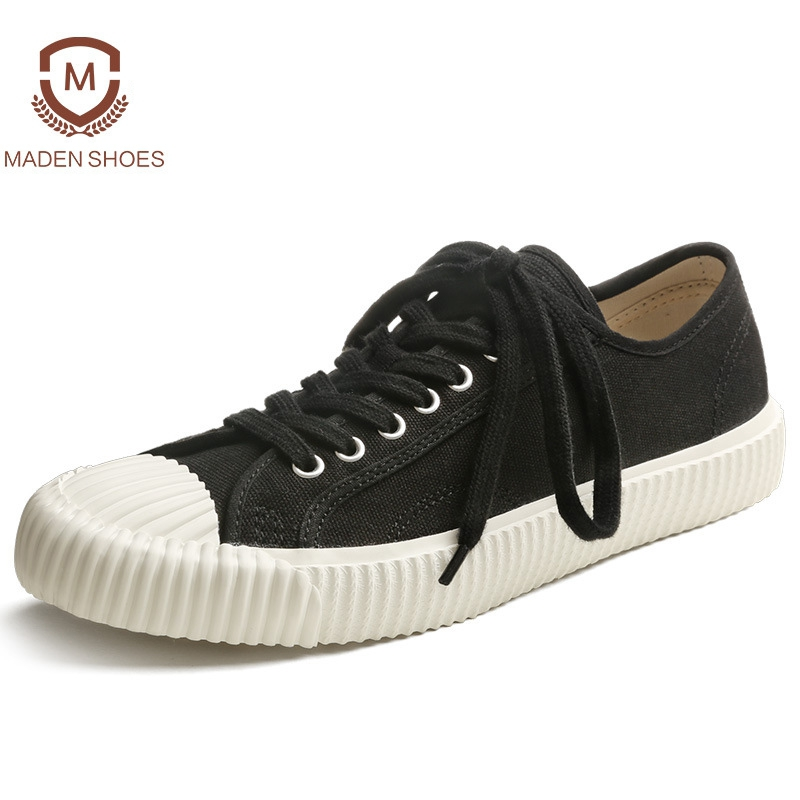 Maden 2018 Spring Summer Vintage Style Canvas Sneakers ...