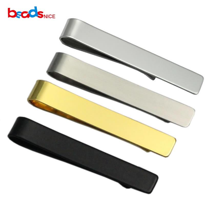 Кліп для краватки Beadsnice MensTie Bar Персоналізований подарунок з нержавіючої сталі Худий подарунок для нього Оптова ціна Більше кольору на вибір ID33776