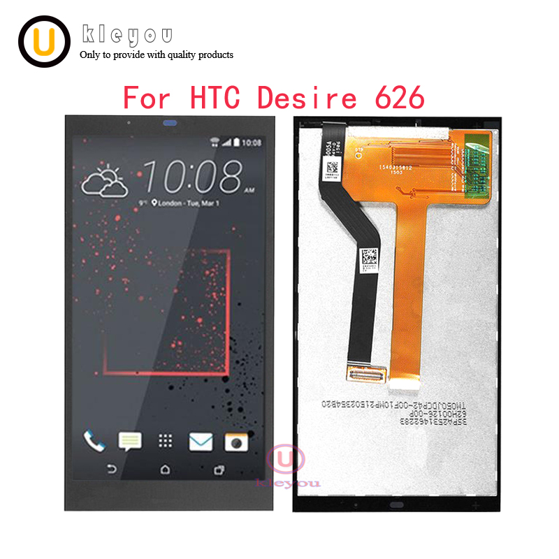 Black For HTC Desire 626 LCD Display Touch Screen with Digitizer Full Assembly Repair Parts For Htc desire 626 lcd