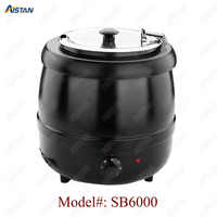 SB6000 Chaffing Dish Equipment/ Electric Soup Kettle for buffet