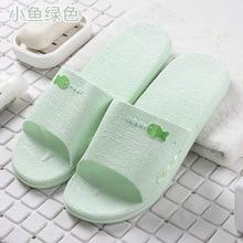 Bathing household slippers summer non-slip thick-soled wear room