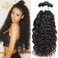 Brazilian Water Wave Virgin Hair 3pcs/lot Virgo Hair Company Brazilian Natural Wave Wet And Wavy Human Hair Mink Brazilian Hair