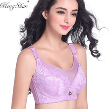 Memory steel ring Lace Embroidery with lace Gathering and adjusting thin section Fat mm, big size, sexy Bras Anti extinction