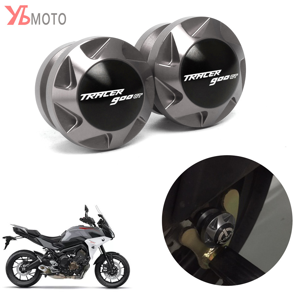 Motorcycle CNC Accessories Cover Swingarm Spools Slider Stand Screws For YAMAHA TRACER 900 GT 900GT 2018-2019