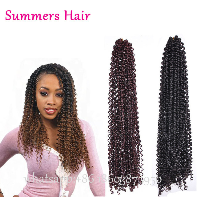 Hot Selling 18inch Freetress Equal Weave Brazilian Curly Hair
