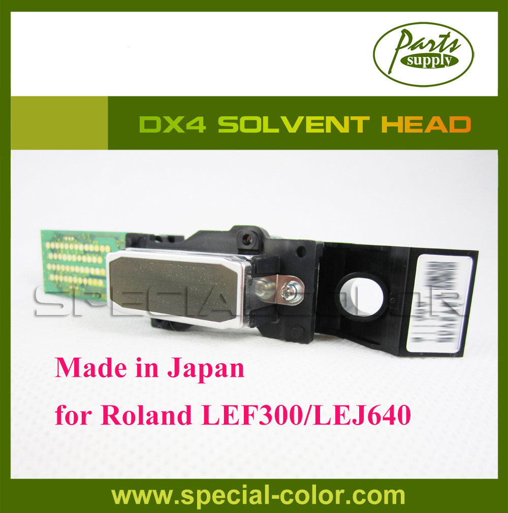 Roland DX4 Print Head Solvent Original for Roland UV Printer LEJ640/LEF300 roland sj 640 xj 640 l bearing rail block ssr15xw2ge 2560ly 21895161 printer parts