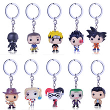 QIYIGE Harry Potter Keychain The Movie Theme Action Figure Collectible Model Walking Dead Nick Keyring