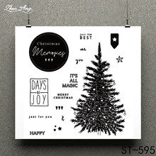ZhuoAng The sixth miracle of Christmas Clear Stamp for Scrapbooking Rubber Seal Paper Craft Stamps Card Making