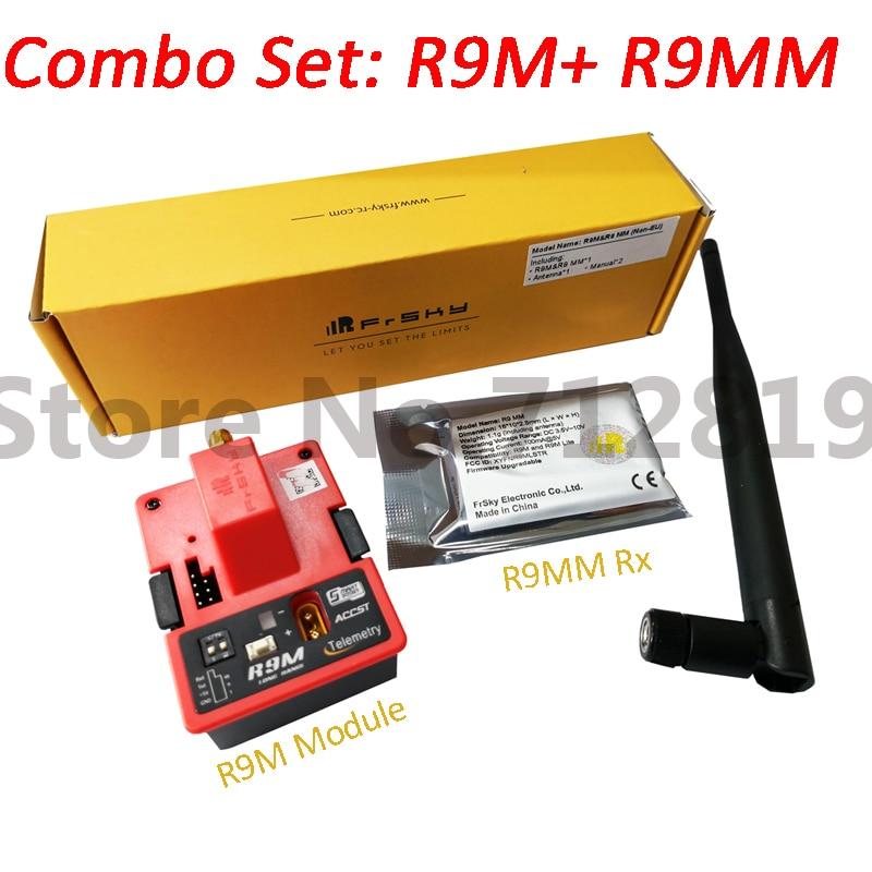 FrSky de largo alcance del sistema R9M y R9 MM receptor Combo Set