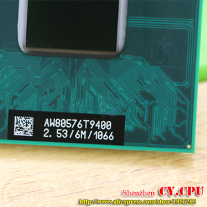Image 3 - Free Shipping intel CPU laptop Core 2 Duo T9300 CPU 6M Cache/2.5GHz/800/Dual Core Socket 479Laptop processor for GM45/PM45