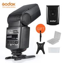 Godox מצלמה פלאש TT520II עם Build in 433MHz אלחוטי אות עבור Canon Nikon Pentax אולימפוס DSLR מצלמות