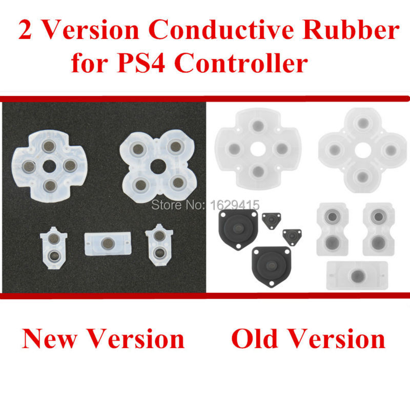 US $5 39 10% OFF|IVYUEEN 10 Sets For Playstation Dualshock 4 PS4 Controller  JDS 030 JDM 030 JDS 040 Rubber Conductive Adhesive Button Pad Keypads-in
