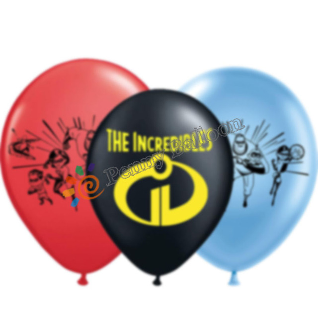 Wholesale 30pcs Lot The Incredibles 2 Latex Balloon Inflatable Girl Happy Birthday Decorations Globos Toys For Kids In Ballons Accessories From Home