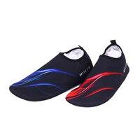 남성 여성 연인 아쿠아 신발 물 스포츠 바다 수영 다이빙 신발 비치 상류 트레킹 맨발로 피부 신발 야외 요가 신발