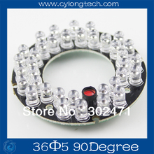 36 LED 5mm Infrared IR Led Board For Camera 90 Degree.CY36F5-90A