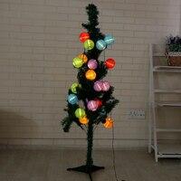 4M Ball Solar LED String Lights 20 LED Solar Lamp Outdoor Lighting Globe Christmas Decorative Light