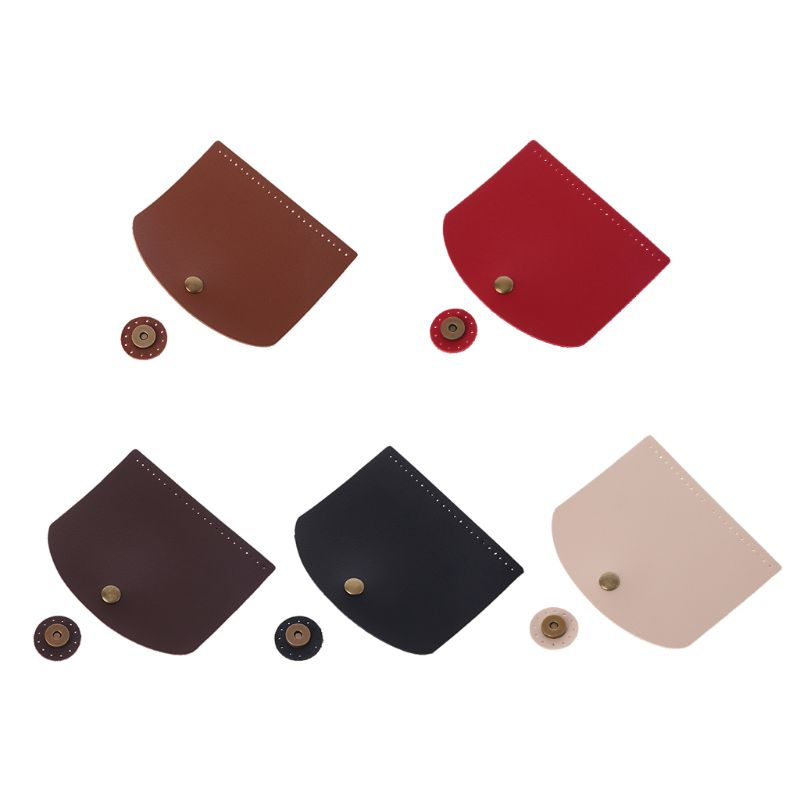 New Arrival Fashion 1 Pc Shoulder Bag Flap Cover Replacement for Women Handbag DIY Craft Accessories Decor 5 ColorsNew Arrival Fashion 1 Pc Shoulder Bag Flap Cover Replacement for Women Handbag DIY Craft Accessories Decor 5 Colors