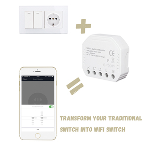 Image 5 - Tuya smart WiFi switch module turn your old switch into smart , compatible with alexa , google home ,IFTTT , timer switch module